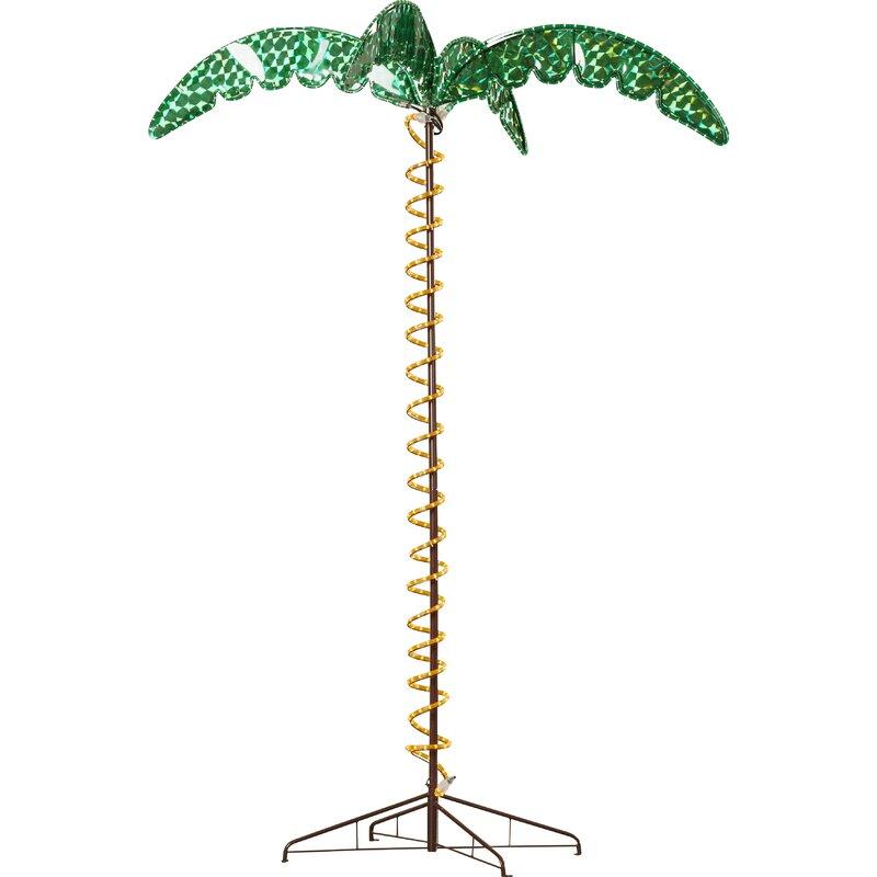 Beachcrest home canova large palm tree 5 ft rope light reviews canova large palm tree 5 ft rope light aloadofball Gallery