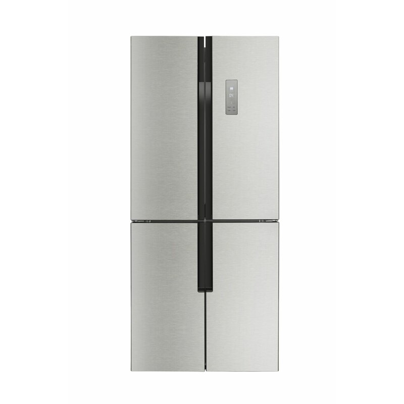 Counter Depth French Door Refrigerator With LED Control Panel
