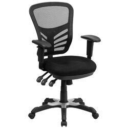 zipcode design ayers mid-back mesh desk chair & reviews | wayfair