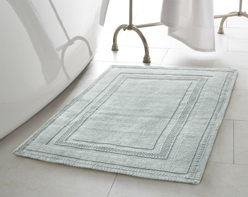 Geometric Bath Rugs Mats Youll Love Wayfair - Black and white tribal bath mat for bathroom decorating ideas