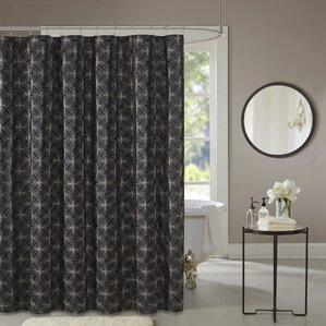 Black Shower Curtains shop 2,948 black shower curtains | wayfair