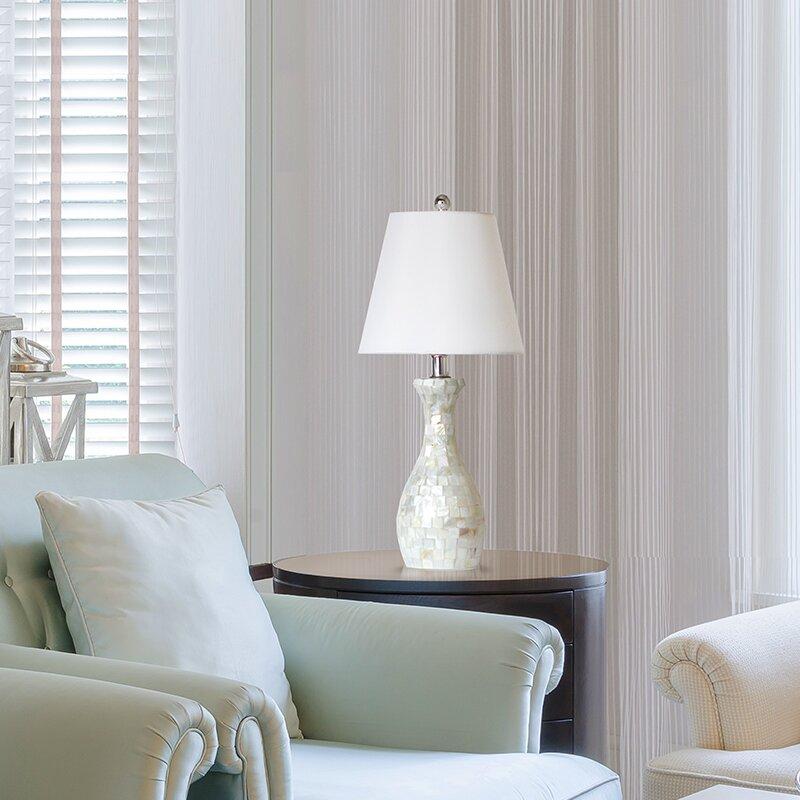 Marvelous Bordelon Mosaic 22 5 Table Lamp Interior Design Ideas Clesiryabchikinfo