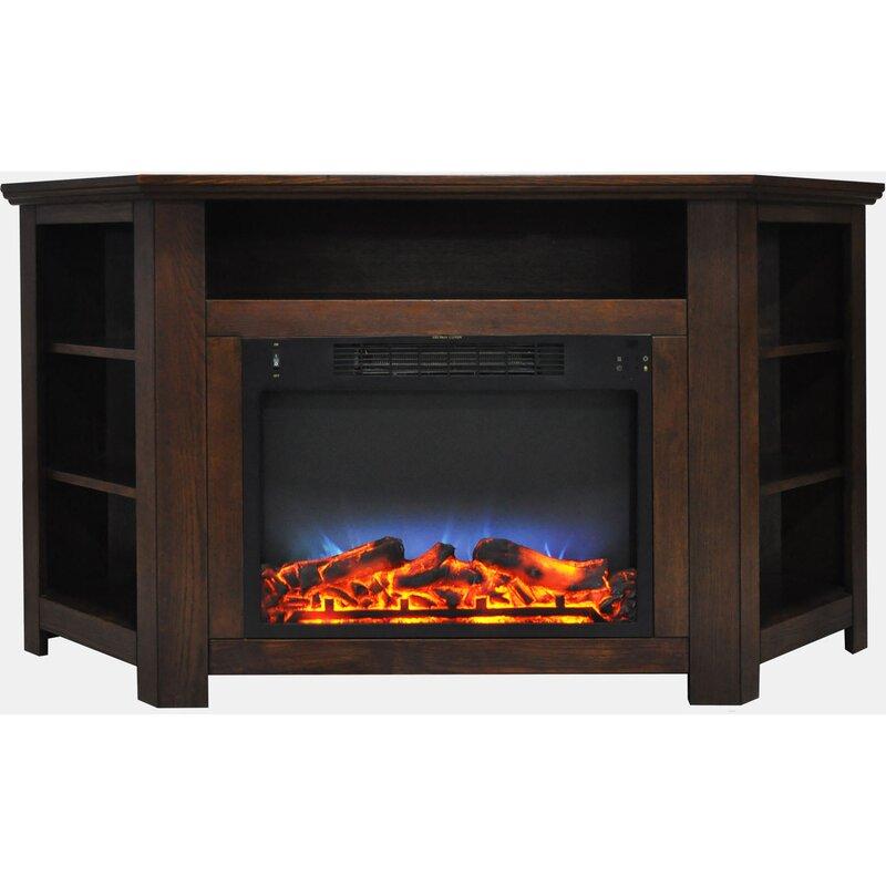 Red Barrel Studio Cesar Led Electric Fireplace Tv Stand Wayfair
