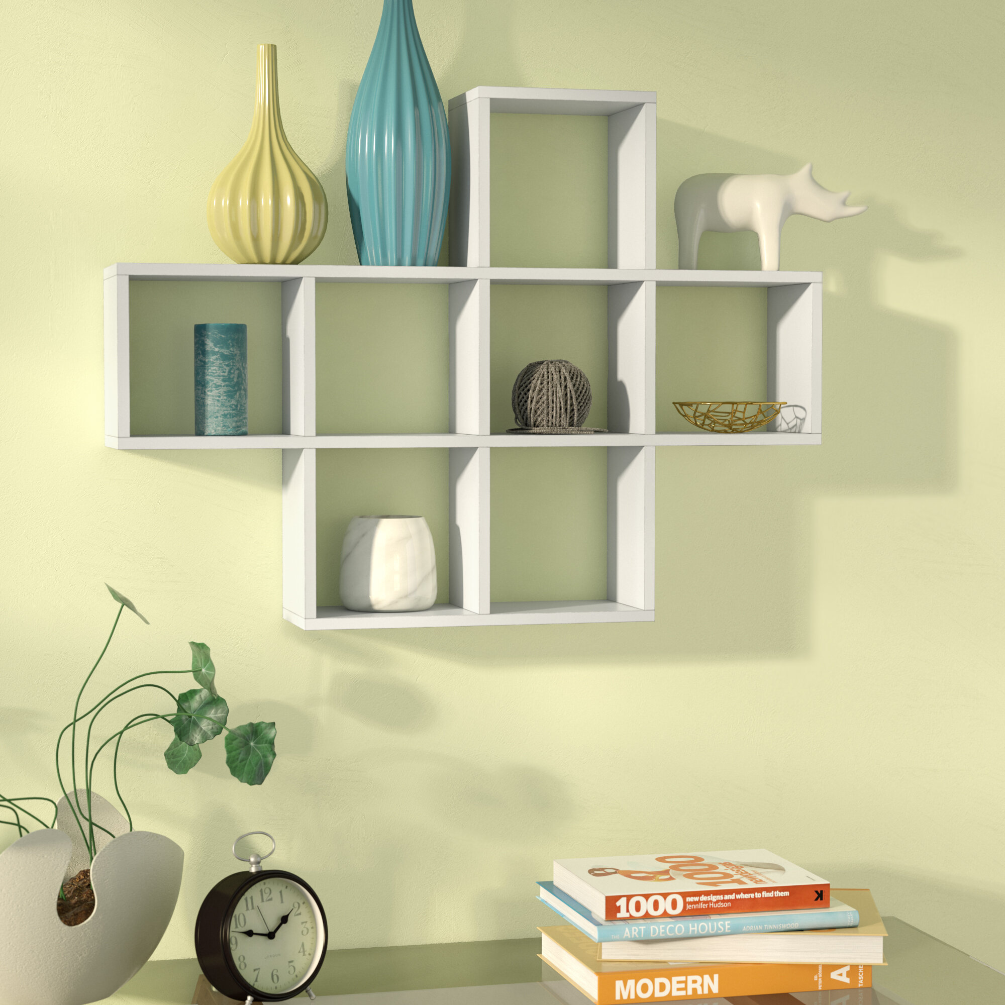 Zipcode Design Germain Cubby Wall Shelf & Reviews | Wayfair