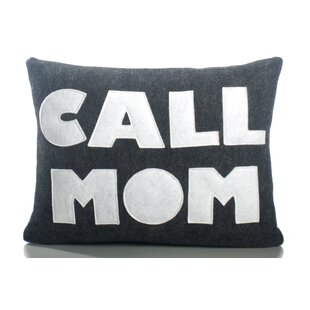 Good Advice Call Mom Throw Pillow