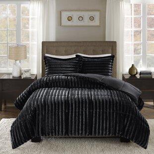 f6052c1f6422c Faux Fur Bedding Sets   Wayfair