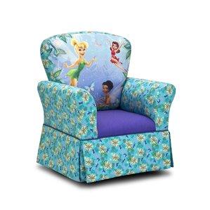 Disney Fairies Skirted Kids Cotton Rocking Chair by Kidz World