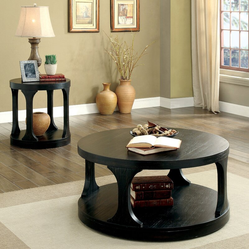 Red Barrel Studio Haywood 2 Piece Coffee Table Set