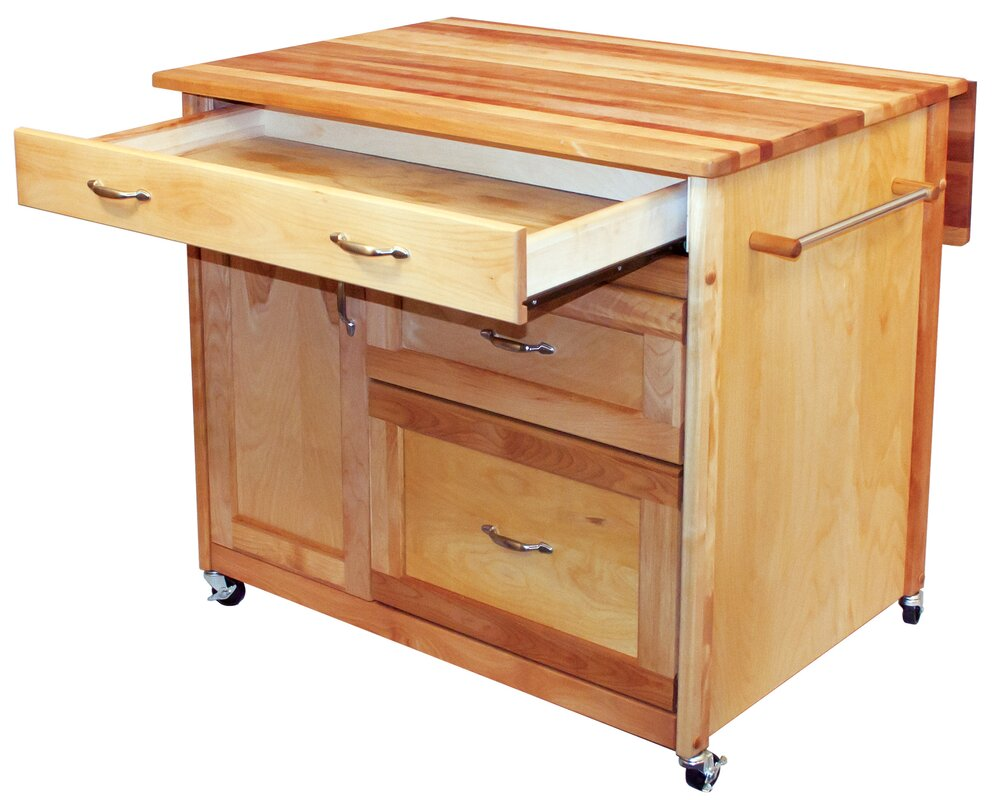kitchen island butcher block top kitchen island with butcher block top amp reviews birch 8146