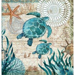 Briarton Turtles Shower Curtain