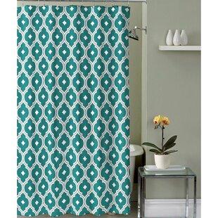 Fabric Shower Curtain Blue Wayfair