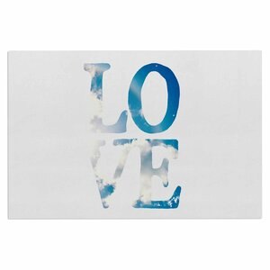 'Love' Cloud Decorative Doormat
