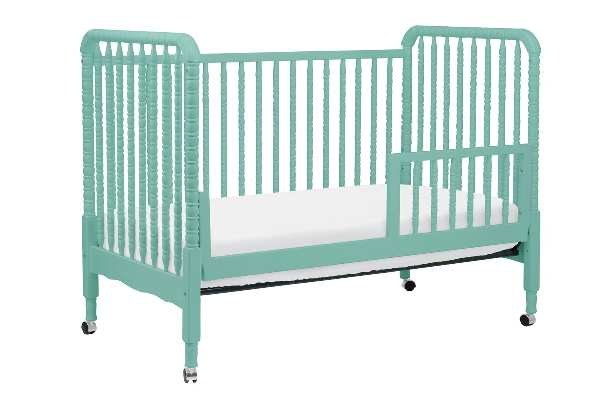 convertible bed rail conversion in shipping free jenny lind with lagoon crib davinci toddler kit