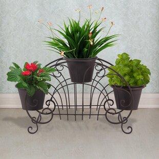 Decorative Flower Pots Shelf Unit Plant Stand