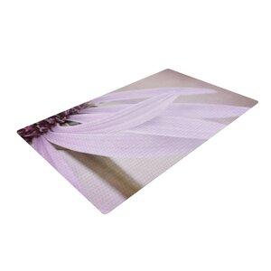 Iris Lehnhardt Windswept Floral Lavender Area Rug