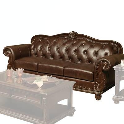 Wentz Leather Sofa