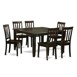 Parfait 7 Piece Extendable Dining Set