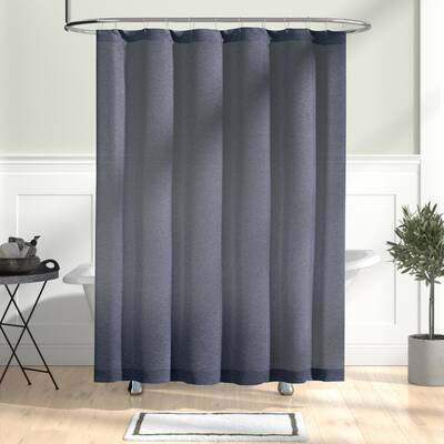 Wallingford Woods Chambray Single Shower Curtain