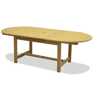 Pulver Drop Leaf Solid Wood Dining Table