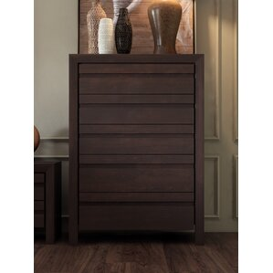 Fierro 5 Drawer Chest by World Menagerie