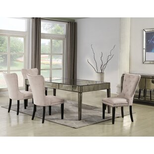 Sariah 5 Pieces Solid Wood Dining Set