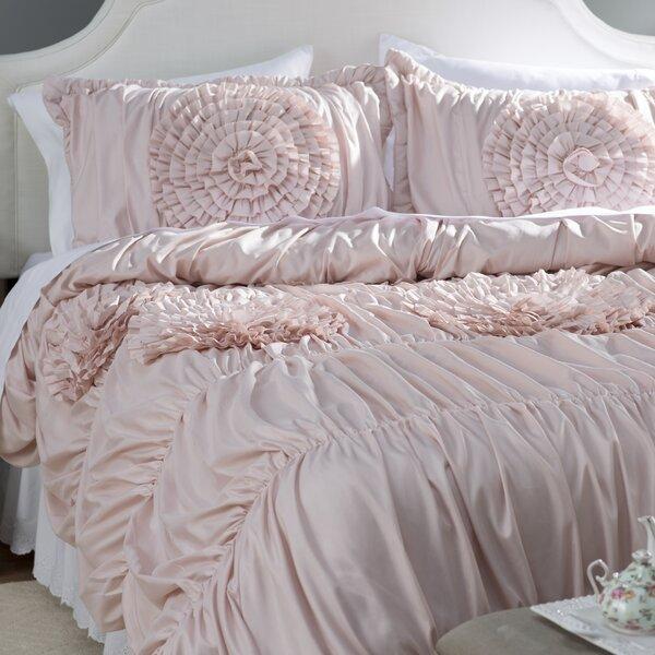 Lazerte 3 Piece Pink Blush Comforter Set Amp Reviews Birch