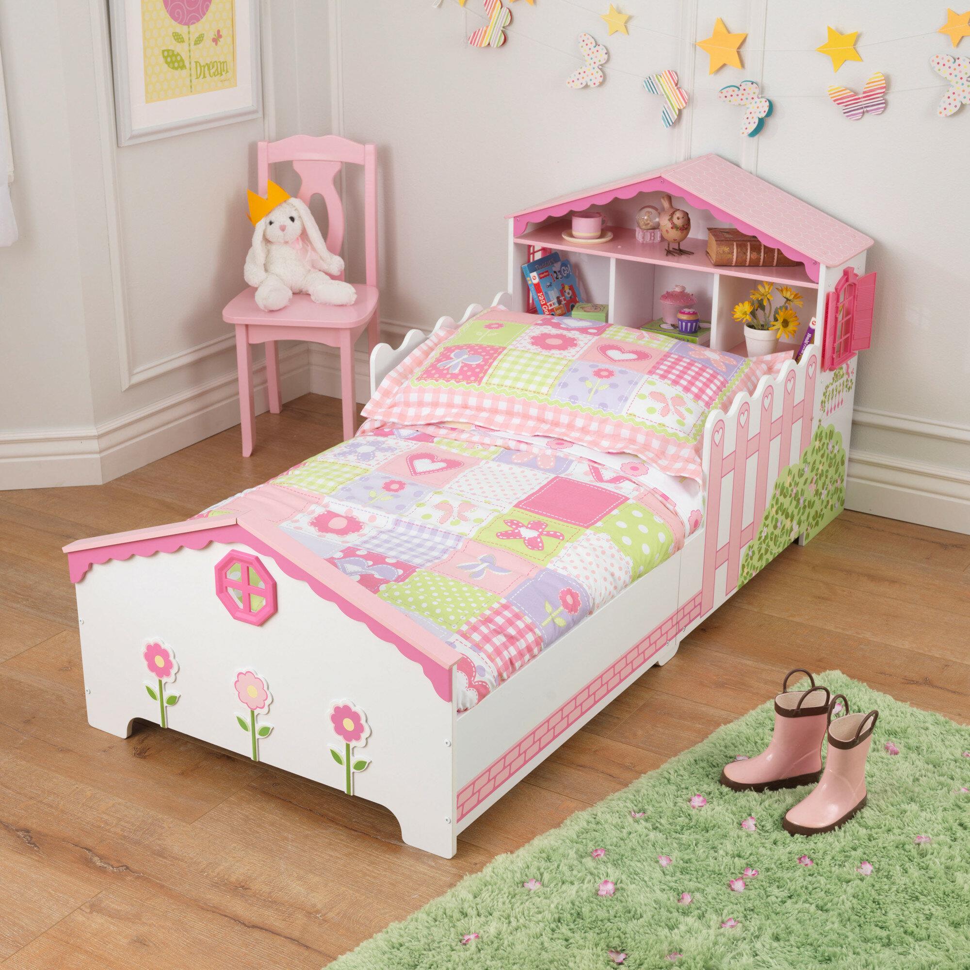 Kidkraft Dollhouse Toddler Bed Reviews Wayfair Co Uk