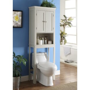 bathroom space saver 236 w x 6675 h over the toilet storage - Bathroom Cabinets Space Saver