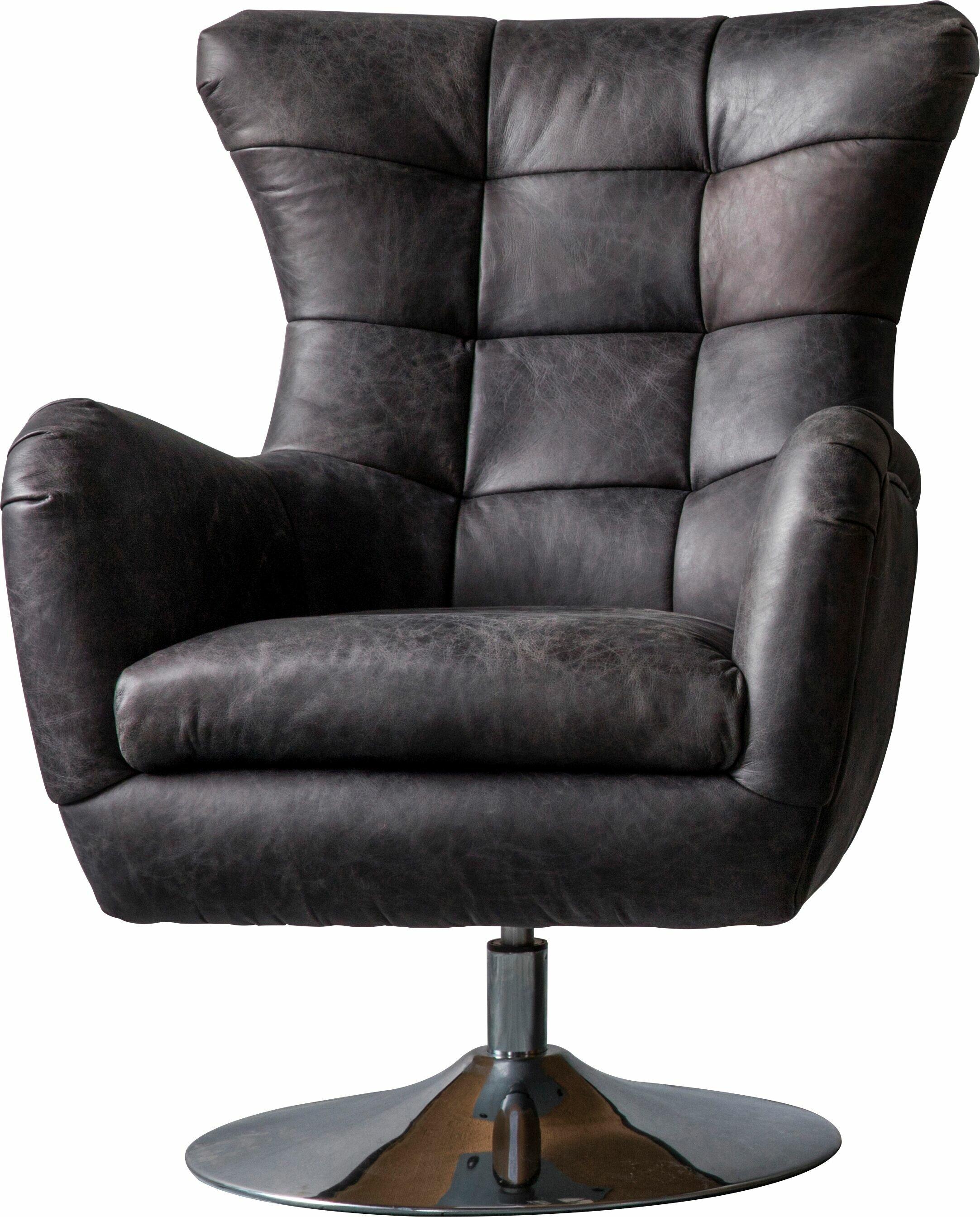 Havza Swivel Wingback Chair
