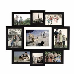 Latitude Run 9 Opening Central Wall Hanging Picture Frame