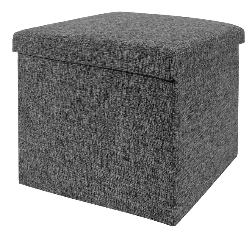 Zosia Foldable Storage Foot Stool Cube Ottoman  sc 1 st  Wayfair & Zipcode Design Zosia Foldable Storage Foot Stool Cube Ottoman ... islam-shia.org