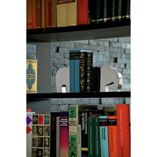 Decorative Collectibles Discreet 1 Pair Bookend Frame Retro Lightweight Frame Creative Organized For Library Home Books