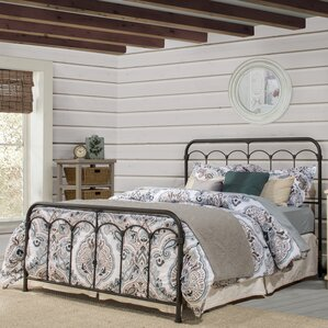 Calana Metal Panel Bed by August Grove