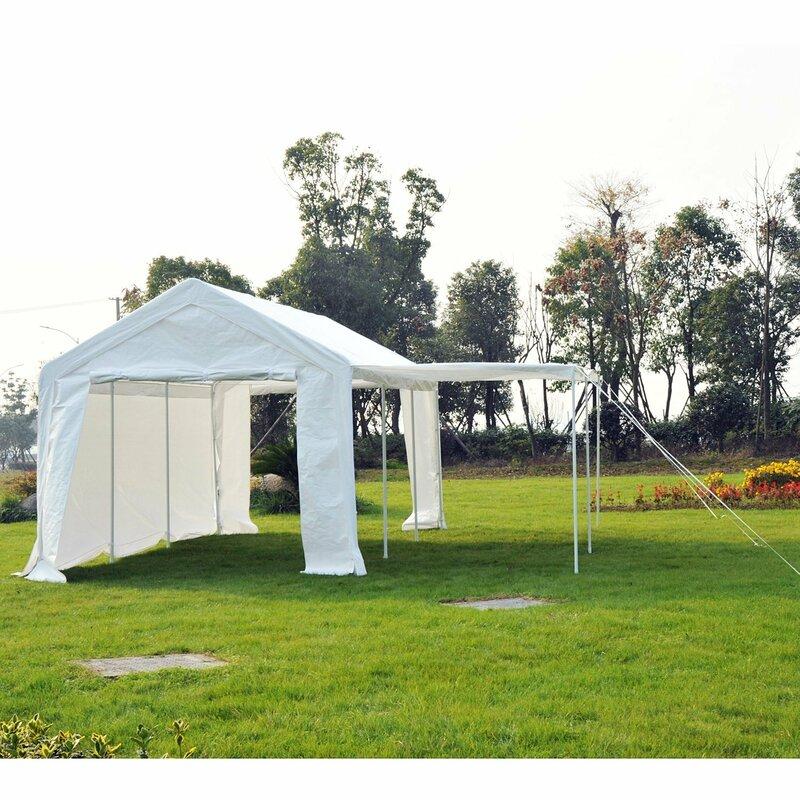 outsunny 300 cm x 600 cm pavillon aus metall bewertungen. Black Bedroom Furniture Sets. Home Design Ideas