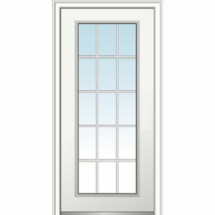 Exceptionnel 15 Lite Fiberglass Smooth Primed Prehung Front Entry Door