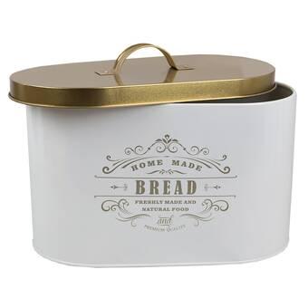 2a512e54f025 August Grove Buckhead Galvanized Bread Canister & Reviews | Wayfair