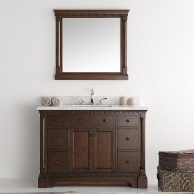 Kingston 49 Single Bathroom Vanity Set With Mirror