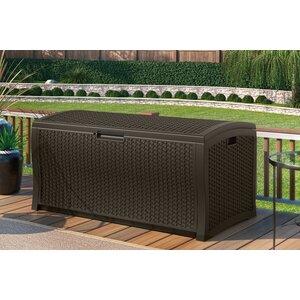 122 Gallon Resin Deck Box