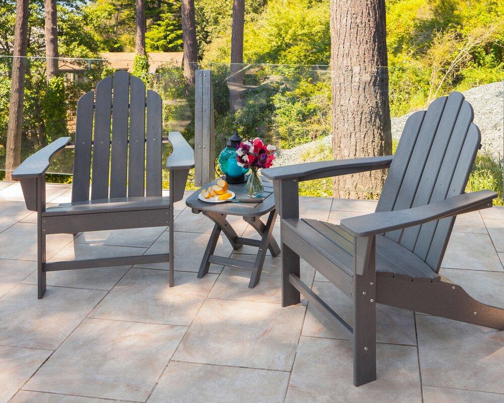 Long Island 3 Piece Adirondack Seating Group