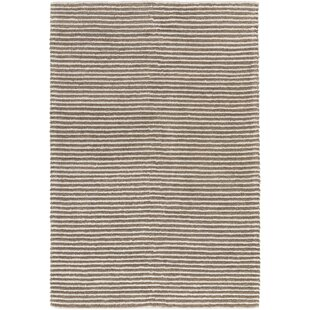 Acton Hand-Woven Camel/White Area Rug ByLangley Street