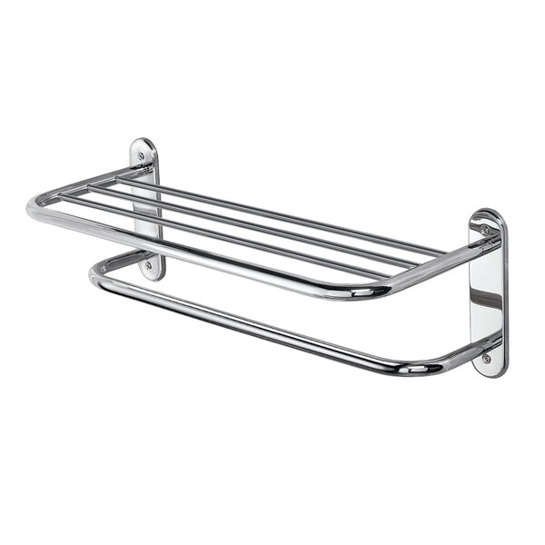 Towel Rack With Shelf | Wayfair