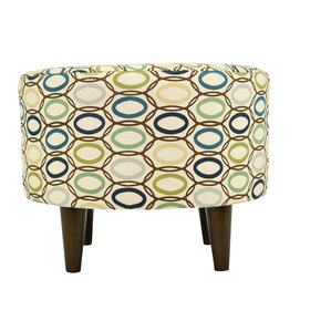 CollVera Sophia Round Standard Ottoman by MJL Furniture