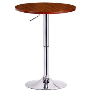 Karamo Adjustable Height Pub Table Amazing