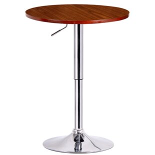 Karamo Adjustable Height Pub Table Top Reviews