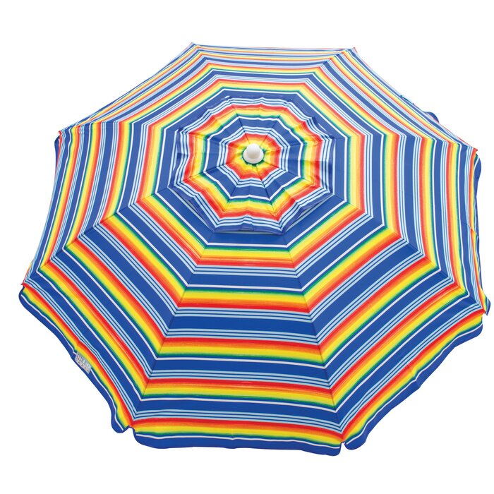 ab6737fc5bc1 Rio Brands 6 ft. Beach Umbrella | Wayfair