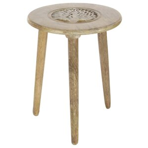Vikas Tripod End Table by Bloomsbury Market