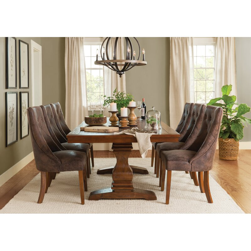 Derwent Extendable Solid Wood Dining Table