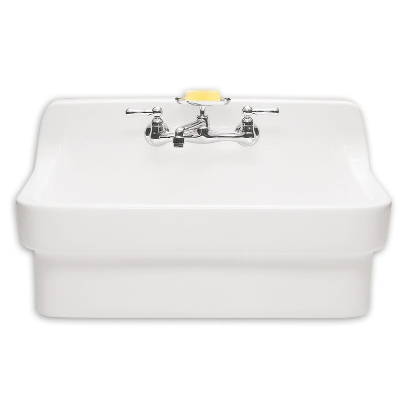 "american standard 30"" wall mount bathroom sink & reviews 