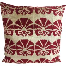Lotus Velvet Throw Pillow