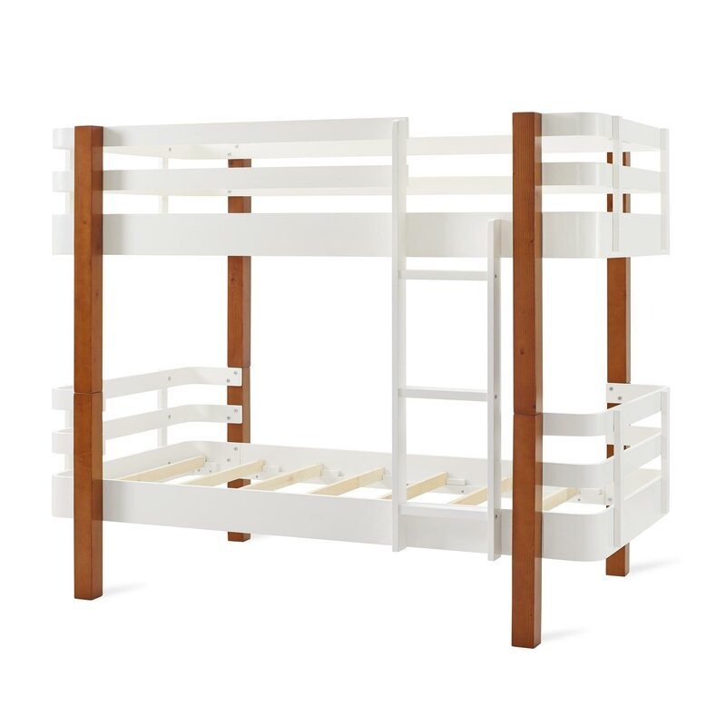 cfb5e659920c Mack   Milo Wilkins Rounded Corner Twin Bunk Bed   Reviews